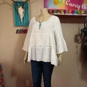Boho/Hippie Inspired Style Top